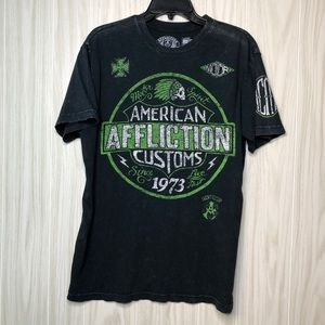 Affliction American Customs Live Fast T-Shirt